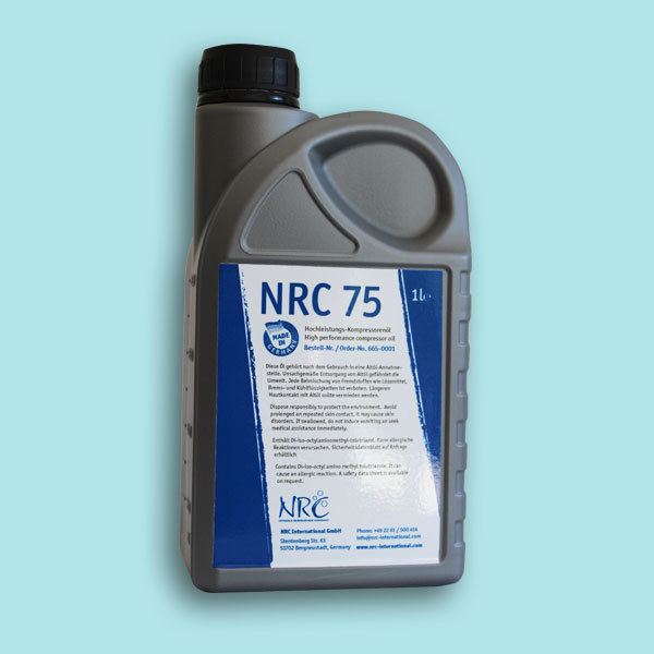 High performance compressor oil