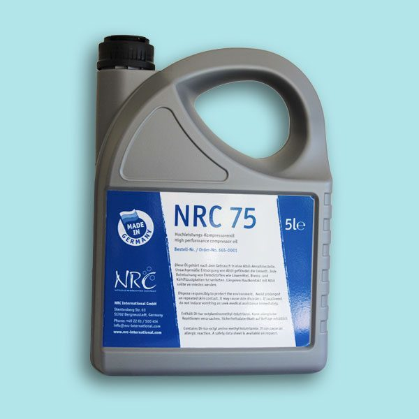NRC 75 High performance compressor oil 5l