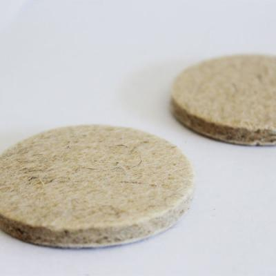 NRC felt discs for filter cartridges of breathing air filters