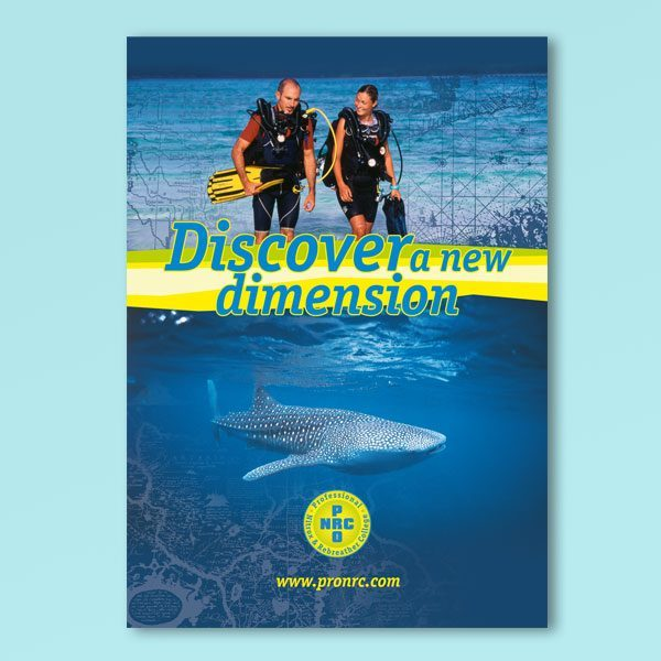 reabreather diving plakat
