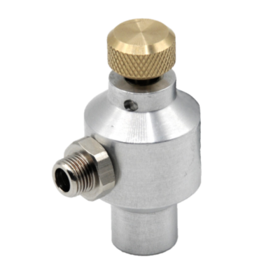 1357 Test gas Removal valve complete Without residual pressure indicator